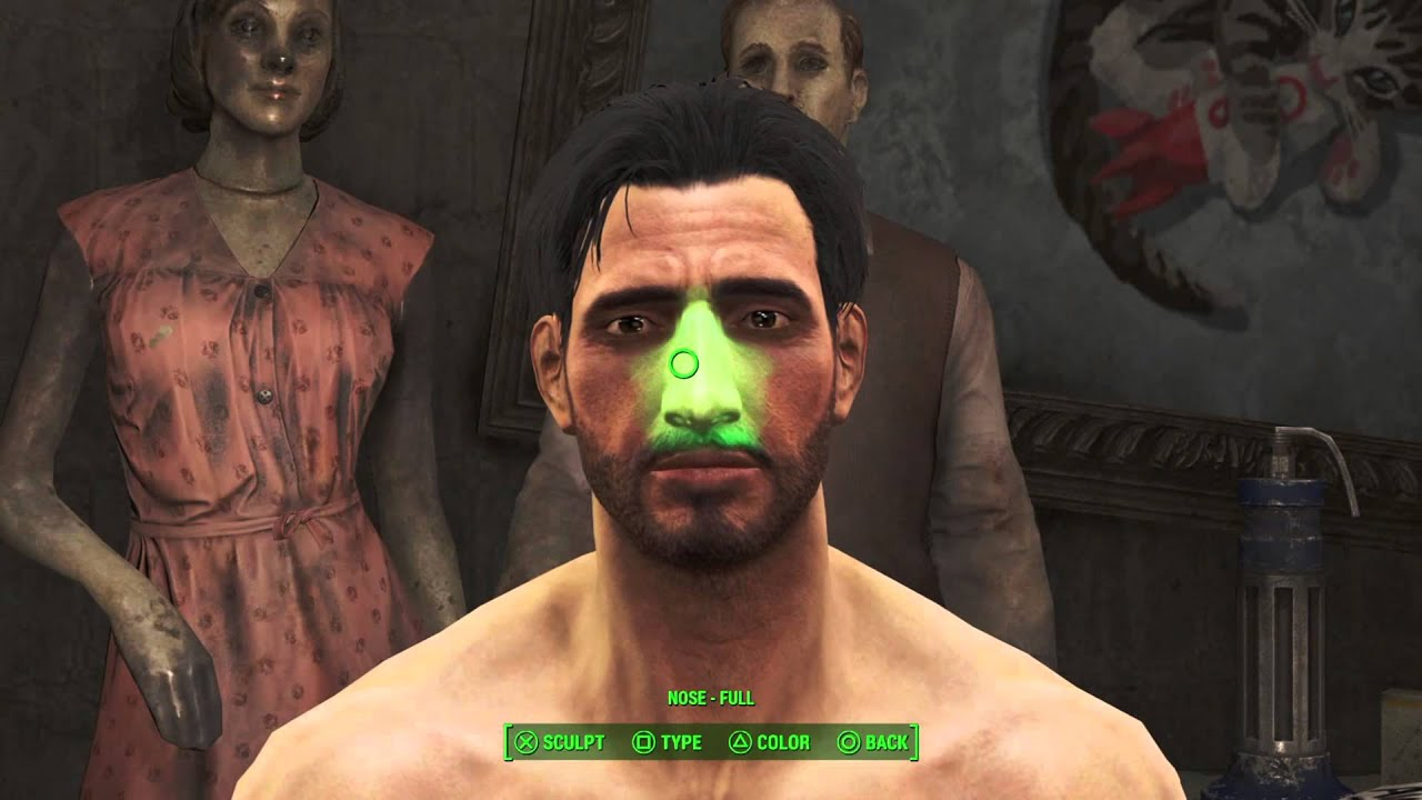 Fallout 4 how to fix bugged face