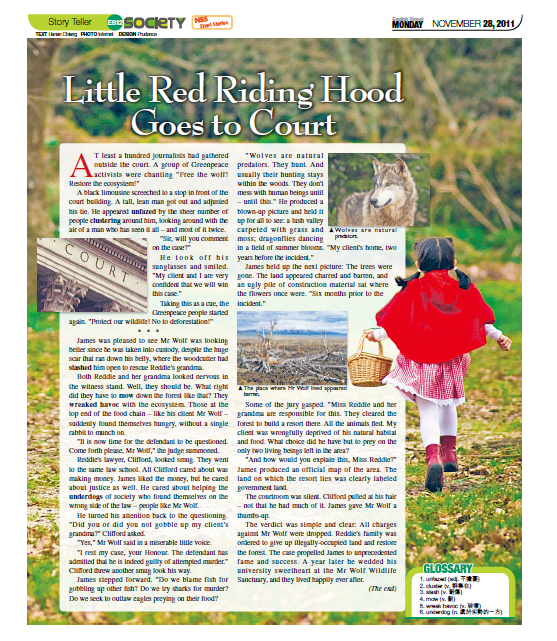Traditional story of little red riding hood pdf