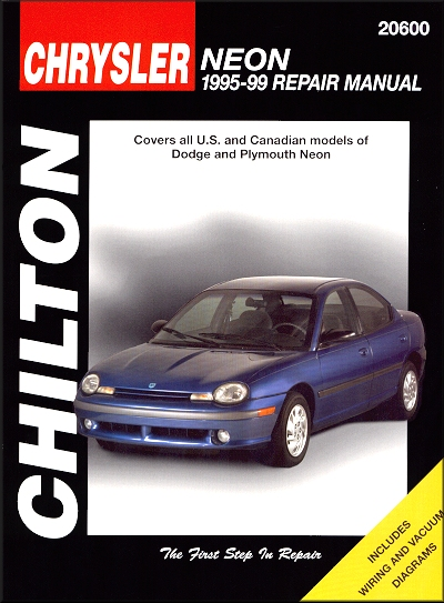 1999 plymouth neon owners manual