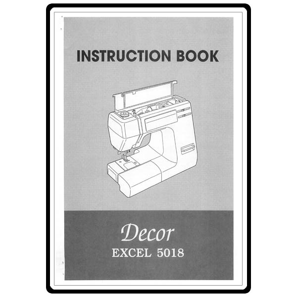 janome my excel 4023 instruction manual