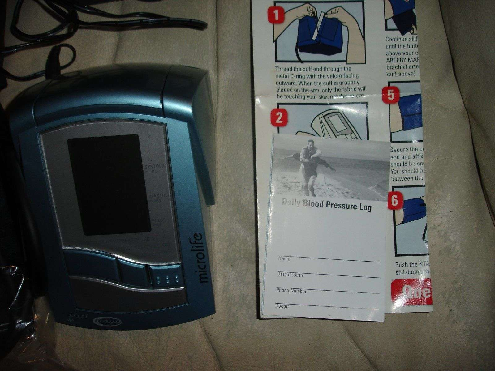 Cvs pharmacy blood pressure monitor manual