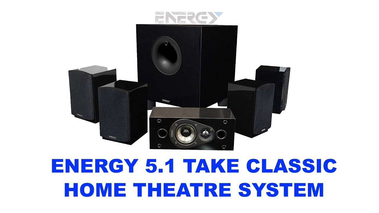 Energy 5.1 take classic home theater system manual