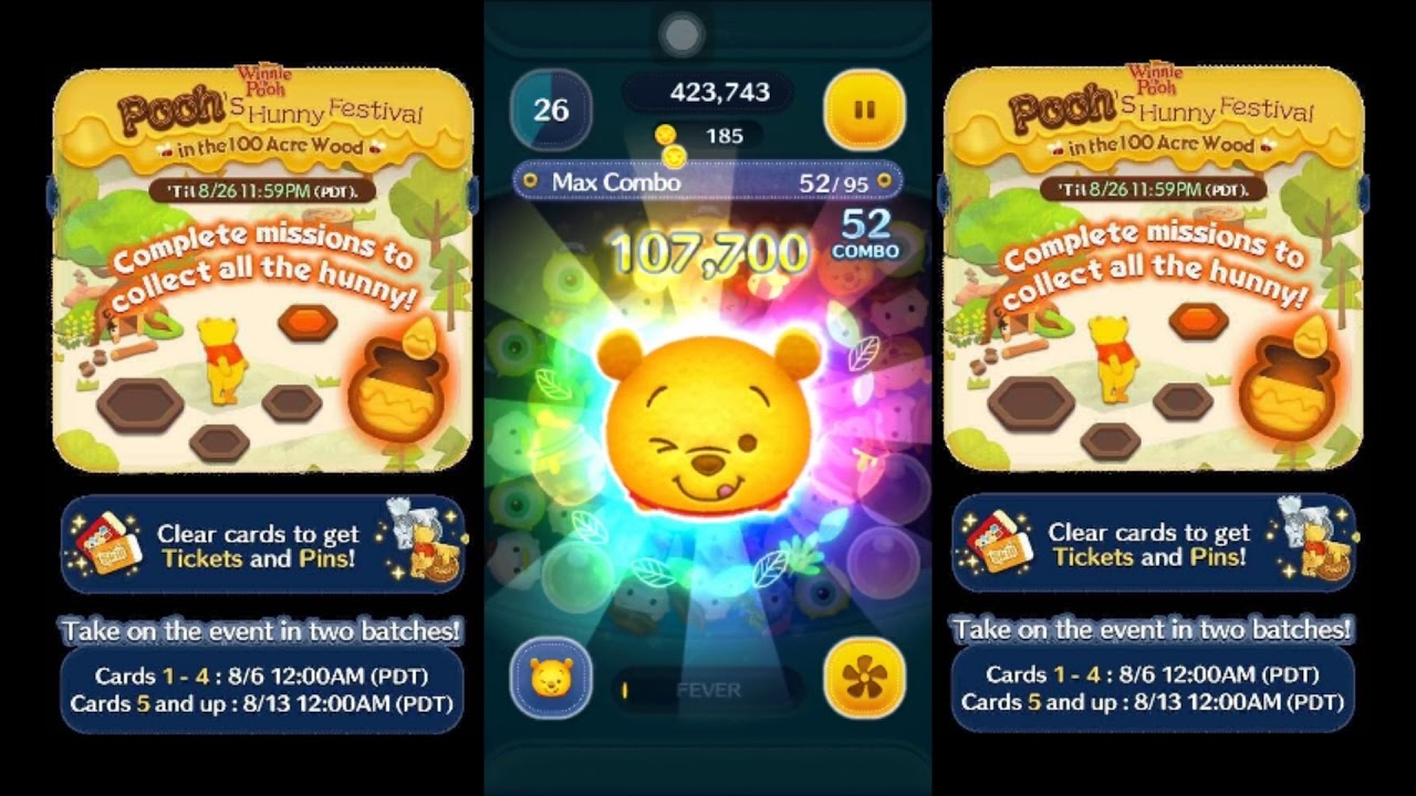 Tsum tsum how to get 100 combo