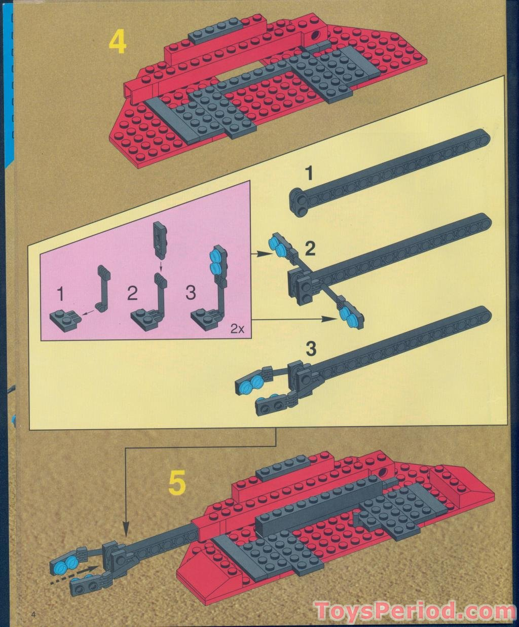 lego system 6889 instructions