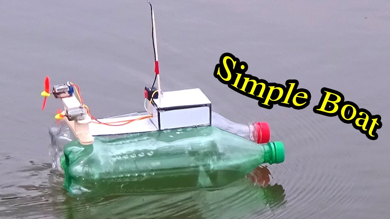 homemade rc boat instructions
