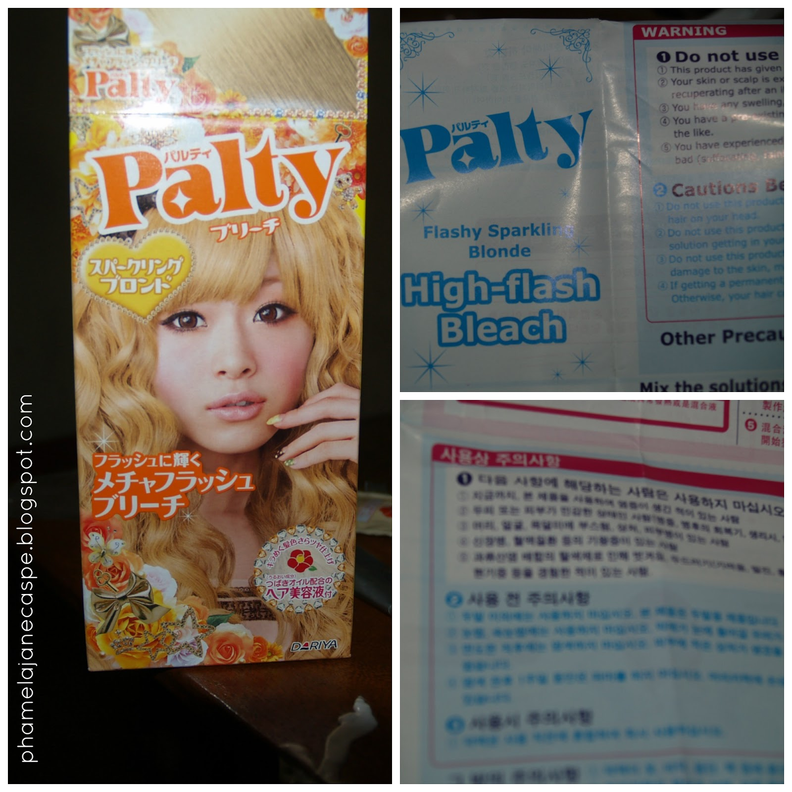 palty jelly hair dye instructions