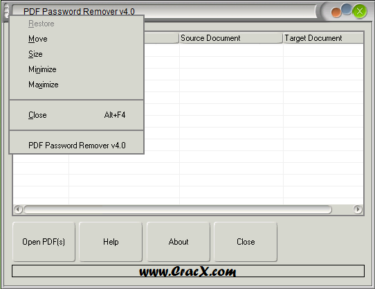 Pdf password remover full free download