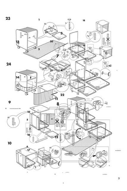 ikea assembly instructions for discontinued items