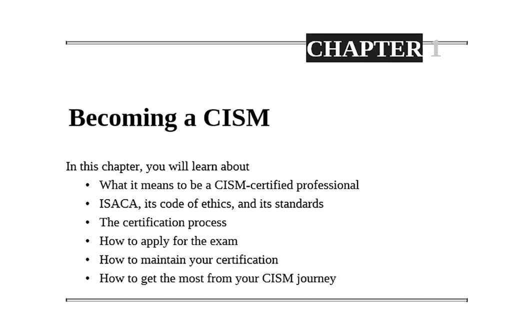 Cism study guide free download