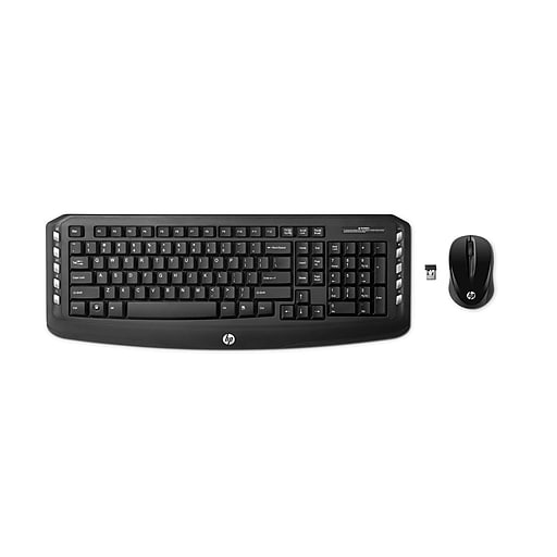 Hp wireless classic desktop keyboard and mouse instructions
