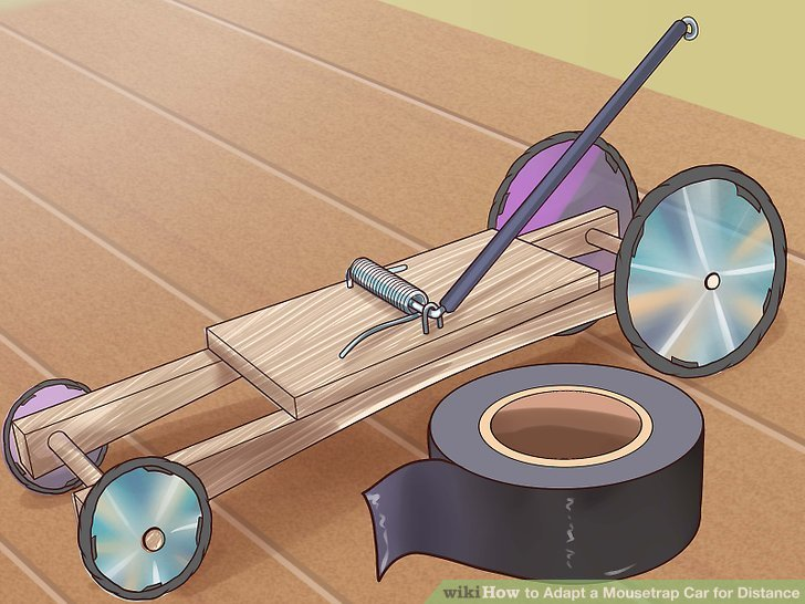 mousetrap car instructions step by step