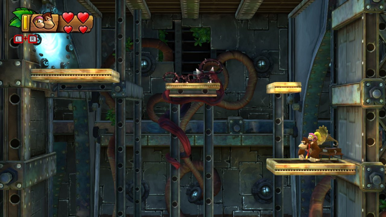 Donkey kong country 3 how to break floor