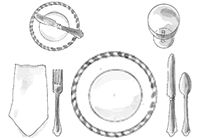 instructions to extend the artamon table setting