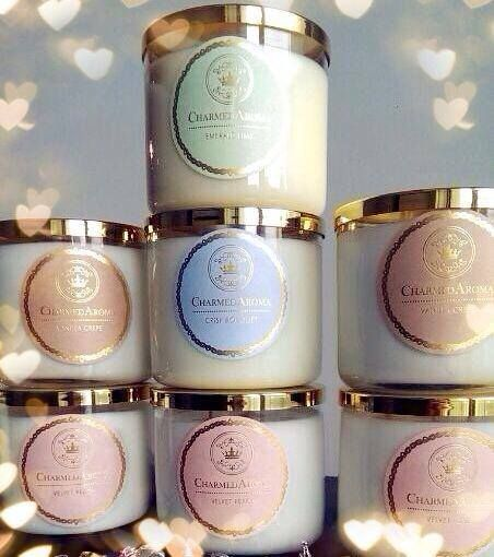 charmed aroma candle instructions