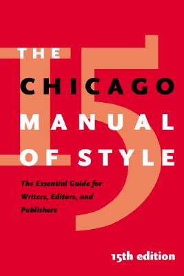 Chicago manual of style 18th edition