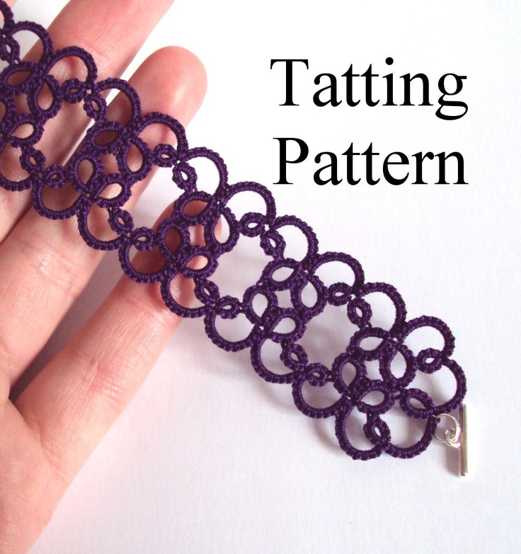 free needle tatting instructions for beginners