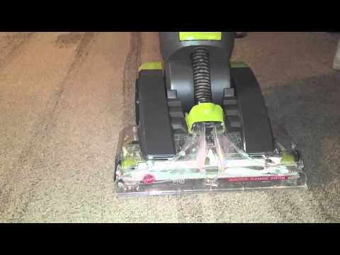 hoover dual power carpet washer instructions