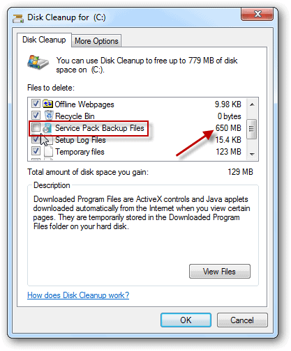 Pack filemanager how to delete