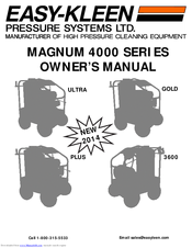 Easy kleen magnum 4000 manual