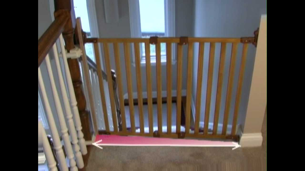 kidco safety gate installation instructions