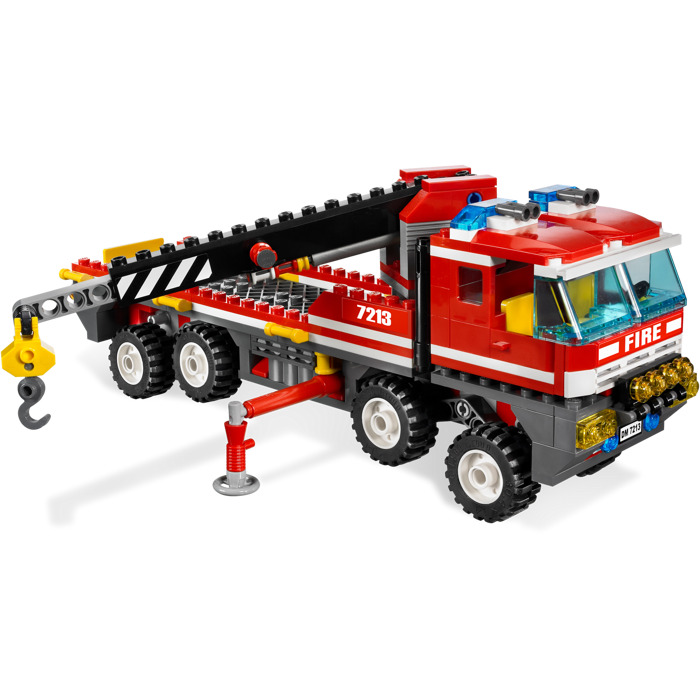 lego off road fire truck instructions