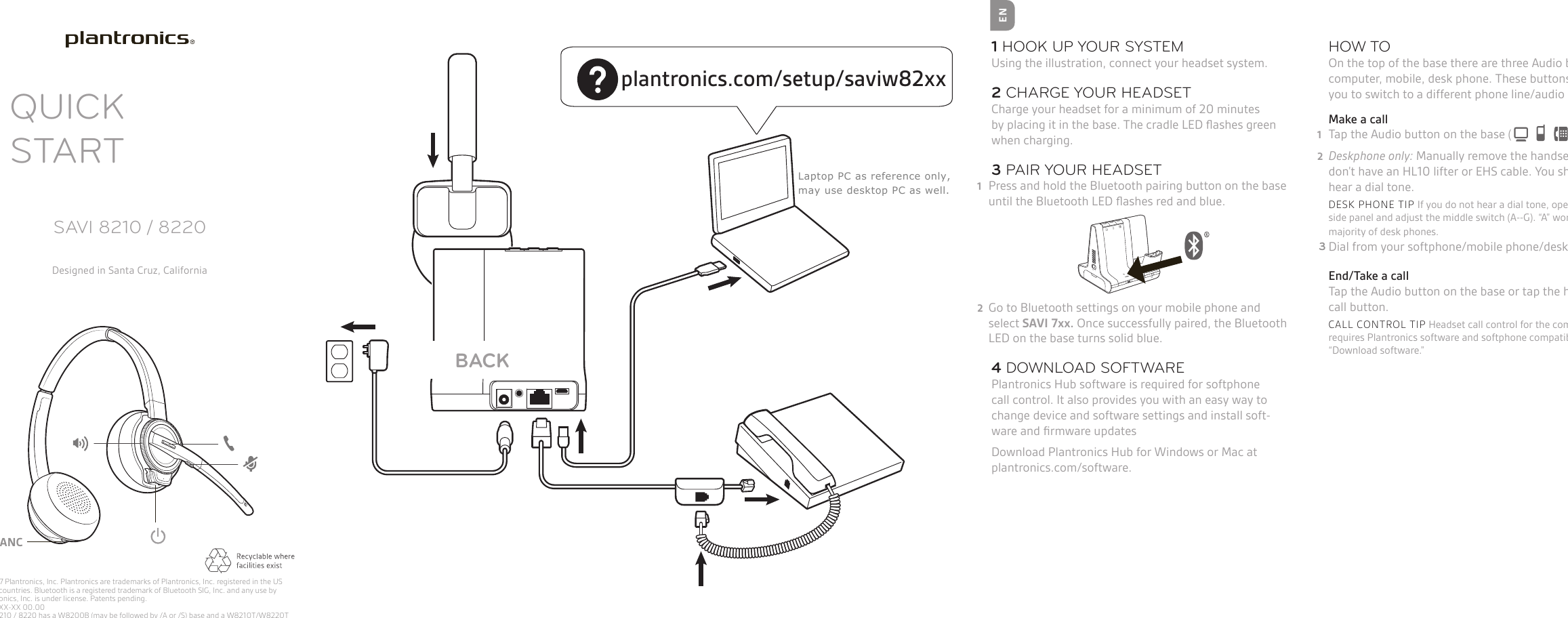 plantronics 590a pairing instructions